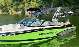 Mastercraft X30 Watersport Boat on Lake Travis