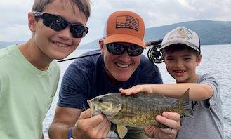 Lund Pro Fishing And Boat Tours on Saranac Lake