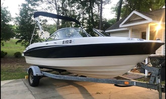 Awesome Bayliner Bowrider 185 for up to 8 guests on Lake Lanier