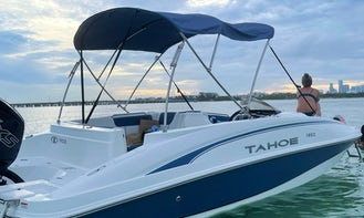 Tahoe Deckboat for Charter in Miami