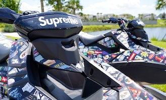 2021 Hype Beast Nation Supreme Sea-Doo Trixxx in Newport Beach