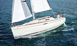 Capri 26' Sailboat Trip on the lake