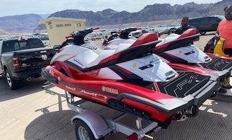 BRAND NEW RENT 2 or 1 JET SKI 🔑 LAS VEGAS / Callville Bay Marine / Lake Mead ….Yamaha Motor Supercharge ask me about Super Deal for rental 1 Jet Ski