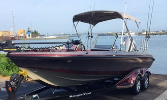 Walleye, Perch and Steelhead fishing charters in Cleveland/Port Clinton area
