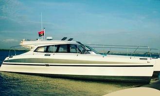 45ft Power Catamaran Charter in Luanda, Angola