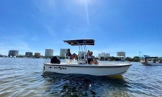 Sandbar, Fishing, Restaurant, Cruise in this 18ft Sea Era Center Console boat!! BEST PRICE