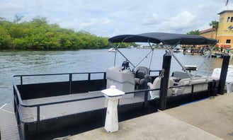 Party Pontoon Barge for up to 12 People!!