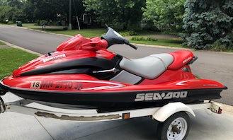2000 SeaDoo GTX 3UP Jetski for Rental in Minneapolis