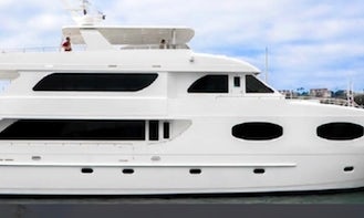2013 Trans Atlantic 120ft Luxury Yacht With Chef and Crew!!