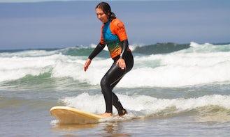 Surf Lessons in Carvoeiro, Faro