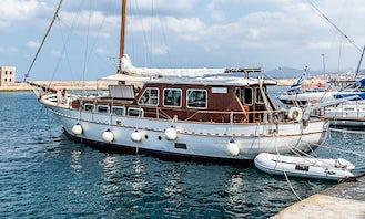 Charter Sailing 60' Gulet in Chania, Greece