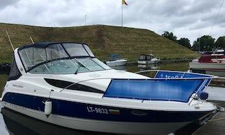 Bayliner 285 Cruiser Motor Yacht Rental in Klaipėda, Lithuania