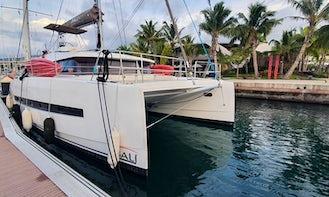 Catamaran Bali 4.1 2020 owner version in Tahiti