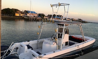 26ft Center Console Fishing Boat! A great boat for your St Augustine Adventure