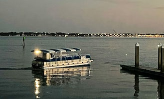40' Pontoon for a different kind of party in St. Augustine