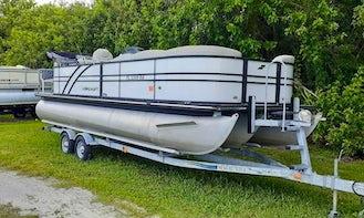 Starcraft 25ft Pontoon for rent in Jensen Beach, FL