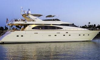 87' Azimut Luxury Mega Yacht Charter in Newport Beach, California