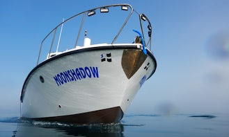 Dive Boat Charter for 12 Divers in Falmouth