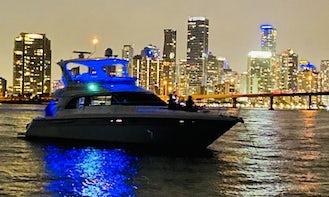 Sea Ray 480 Sedan Bridge For Charter with Captain in Miami