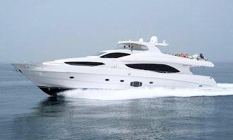 Luxury Gulf Craft 101' Yacht in Dubai, United Arab Emirates