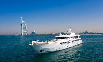 Luxury CRN Mega Yacht 167 FT Dubai, United Arab Emirates