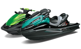 Set of 2 BRAND NEW 2021 Kawasaki High Performance Jet Ski Waverunners (jet ski rental)
