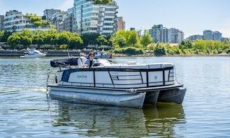 Aqua Patio Pontoon Boat Rentals in Downtown Vancouver