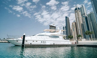 Most Luxurious 75ft yacht for best cruise in Dubai