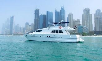 Spacious & Luxury 76ft Yacht in Dubai