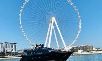 Best & Biggest Luxurious 95ft yacht in Dubai- Jacuzzi yacht