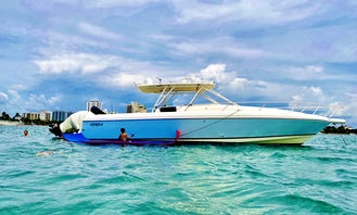 Intrepid 40ft Sport Yacht with Licensed Captain for Fishing, Snorkeling, or Cruises!!