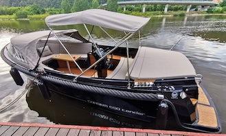 VIP Boat tour in Prague, Czech Republic with Captain
