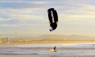 Discover the world of kitesurfing while exploring this magical town!