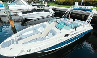 Family, Friends and Relatives Can Enjoy - Sea Ray Sundeck 24' Boat day Trip