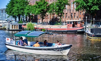 Private Canal Tour for 1-10 People in Amsterdam, Netherlands