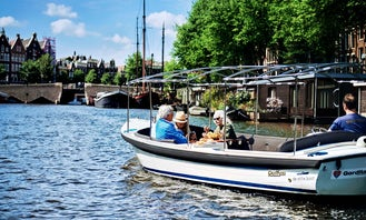 Private tour for 1-10 people in the beautiful canals of Amsterdam!