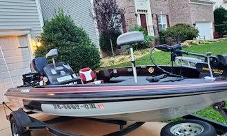 Javelin Bass Fishing Boat fully Loaded!