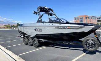2021 Axis A24 Wakeboat for an Amazing Surf Wave in St. George