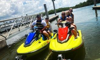 2021 NEW Yamaha EXR Jet Ski Rentals in Southwest Florida