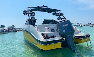 Starcraft Deck Boat with custom wetsound system. ONLY AVAILABLE NOV 15- MARCH 5