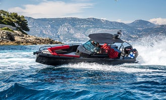 Experience a once in a lifetime cruise aboard Brabus Shadow 500 Black Ops Limited Edition