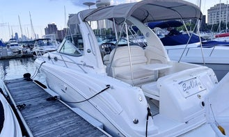 33' Captained Charters in Chicago aboard SeaVibes!