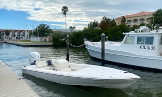Guided Flats Boat Tours with Captain in Clearwater/St. Petersburg, FL