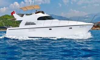 Private Boat Trip Motor Yacht for up to 12 People in Antalya