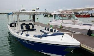 Semi Luxury Motor Yacht Charter in Zanzibar