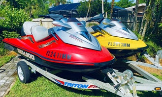 Sea Doo GTX Supercharged Jet Ski's for rent in Fort Myers
