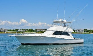 VIKING 50 Convertible Fishing Yacht Charter!