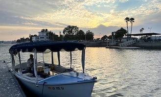Duffy Classic Electric Boat Rental in Marina Del Rey, California