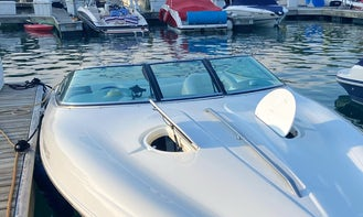 Private Tours on 27' Baja Boss Speedboat in Chicago with Captain Bob