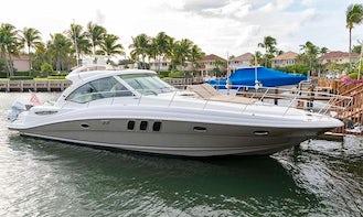 52' Searay - Palm Beach Yacht Rental